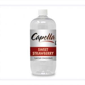 Capella Sweet Strawberry OS Oil soluble Flavour Concentrate MCT bottle