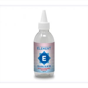 Element Subzero Strawberry Guava Flavour Short Shot Longfill bottle