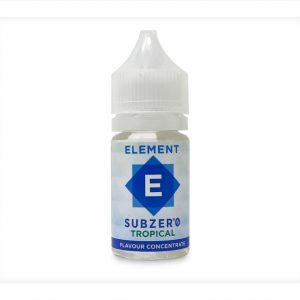 Element Subzero Tropical One Shot Flavour Concentrate bottle