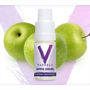 Vapable Apple Sour Flavour Concentrate 10ml bottle