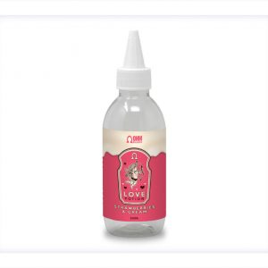 Love Potion Strawberries and Cream Flavour Short Shot Longfill bottle