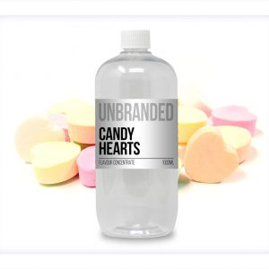 Unbranded Flavour Concentrate Candy Hearts Bulk One Shot bottle