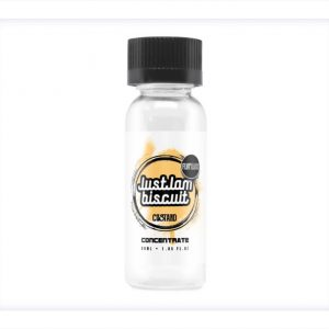 Flvrhaus Just Jam Biscuit Custard 30ml One Shot Flavour Concentrate