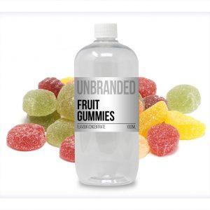 Unbranded Flavour Fruit Gummies Bulk One Shot bottle