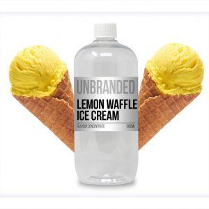 Unbranded Flavour Concentrate Lemon Waffle Ice Cream Bulk One Shot bottle