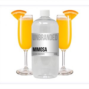 Unbranded Flavour Concentrate Mimosa Bulk One Shot bottle
