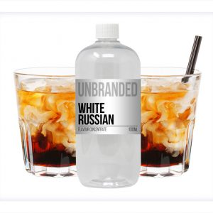 Unbranded Flavour Concentrate White Russian Bulk One Shot bottle