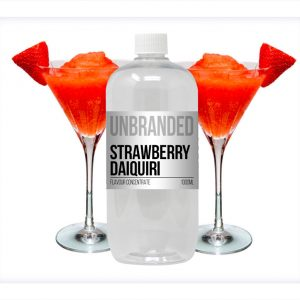 Unbranded Flavour Concentrate Strawberry Daiquiri Bulk One Shot bottle