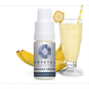 Crystal Flavour Labs Banana Cream Flavour Concentrate 10ml bottle