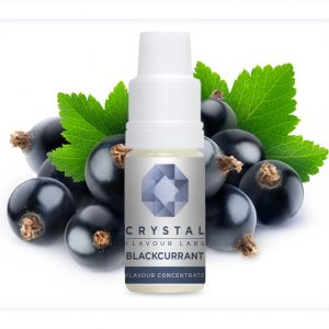 Crystal Flavour Labs Blackcurrant Flavour Concentrate 10ml bottle