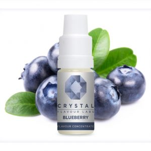 Crystal Flavour Labs Blueberry Flavour Concentrate 10ml bottle