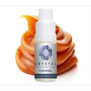 Crystal Flavour Labs Caramel Flavour Concentrate 10ml bottle