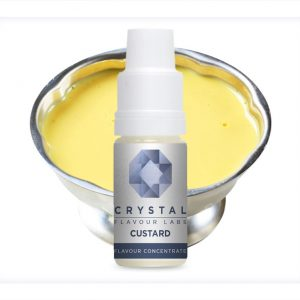 Crystal Flavour Labs Custard Flavour Concentrate 10ml bottle