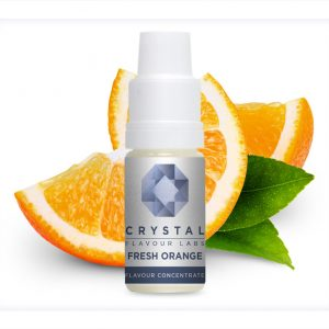 Crystal Flavour Labs Fresh Orange Flavour Concentrate 10ml bottle