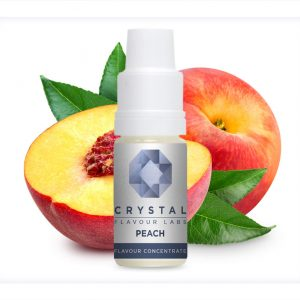 Crystal Flavour Labs Peach Flavour Concentrate 10ml bottle