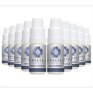 Crystal Flavour Labs Flavour Concentrates 10ml bottles