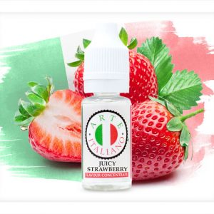 Arte Italiano Juicy Strawberry Flavour Concentrate 10ml bottle