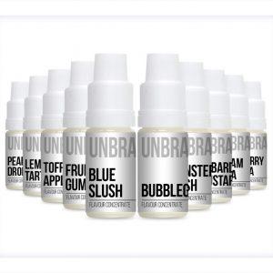 Unbranded Flavour Concentrate Bulk One Shot 10ml bottles