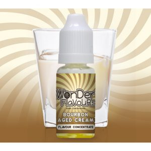 Wonder Flavours Bourbon Aged Cream Flavour Concentrate 10ml bottle