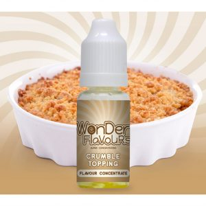 Wonder Flavours Crumble Topping Flavour Concentrate 10ml bottle