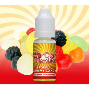 Wonder Flavours Tropical Gummy Candy Flavour Concentrate 10ml bottle