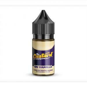 Custard Company OG Vanilla 30ml One Shot Flavour Concentrate