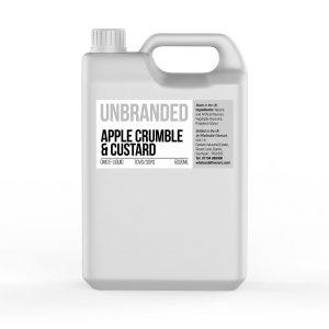 Apple Crumble and Custard Unbranded 5000ml E-Liquid
