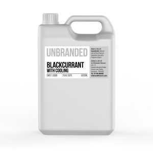 Blackcurrant with Cooling Unbranded 5000ml E-Liquid